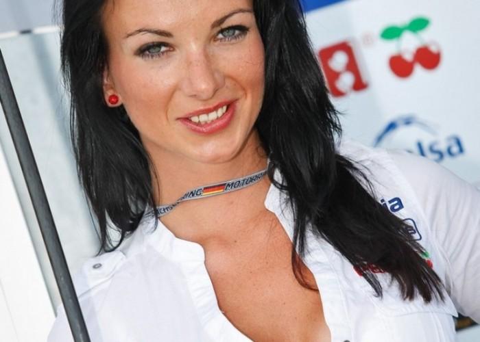 Blusens babe GP Niemiec Sachsenring 2013