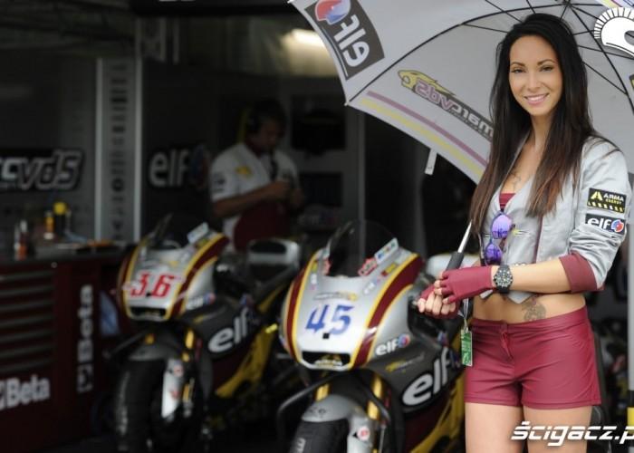 Dziewczyna Reddinga Sachsenring 2013