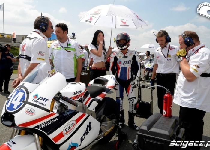 Honda CRT GP Niemiec Sachsenring 2013