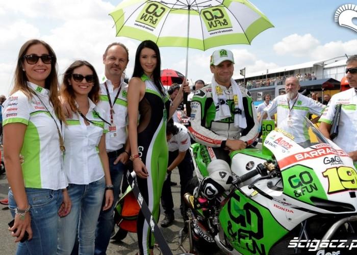 Honda go fun GP Niemiec Sachsenring 2013