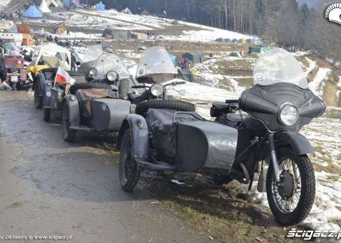 motocykle z koszami