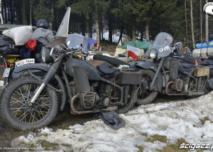 oldschoolowe motocykle