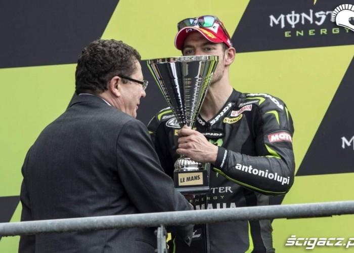 Crutchlow podium Le Mans Grand Prix