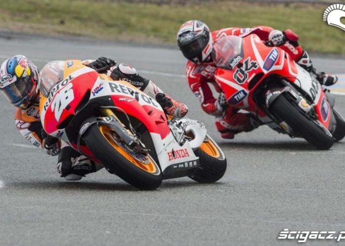 Dovi Pedrosa Le Mans Grand Prix