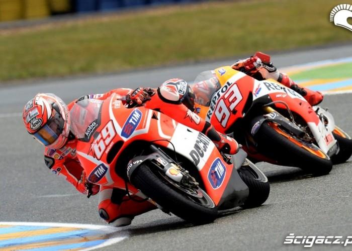 Dovizioso Marquez Le Mans Grand Prix