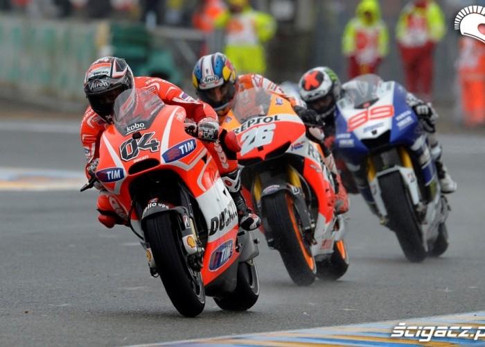 Liderzy Le Mans Grand Prix Francja