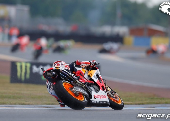 Marquez goni Grand Prix Francji Le Mans