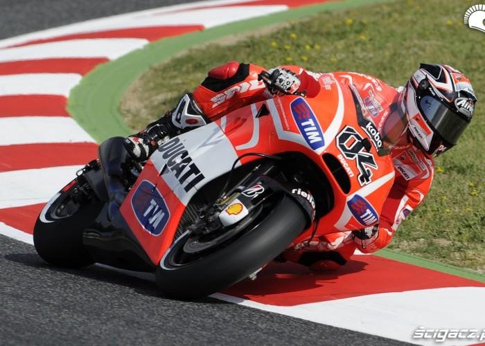 Dovizioso Grand Prix Katalonii MotoGP 2013