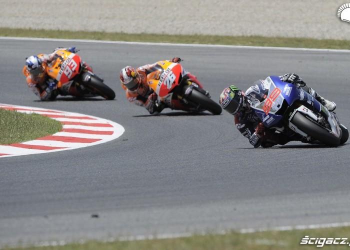 G P Katalonii MotoGP 2013 wyscig