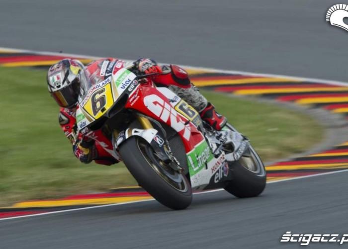 Bradl Grand Prix Niemiec 2013 wyscig