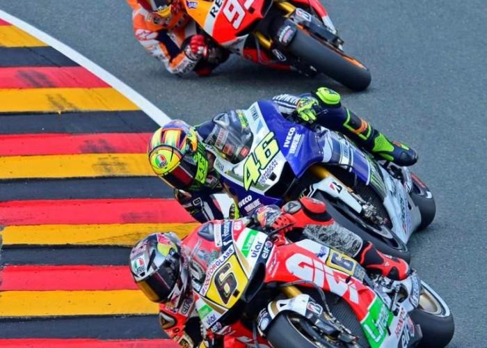 Bradl Rossi Marquez Grand Prix Niemiec