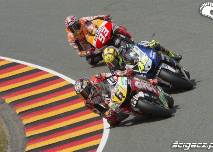 Bradl Rossi Marquez Grand Prix Niemiec 2013