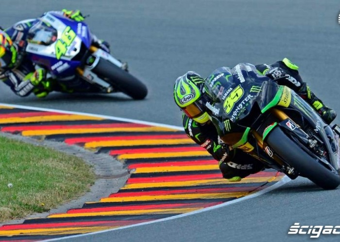 Crutchlow Rossi Grand Prix Niemiec