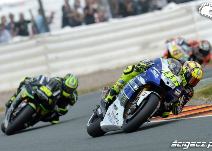Grand Prix Niemiec 2013 Rossi Crutchlow