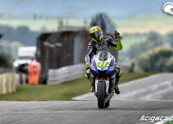 Grand Prix Niemiec 2013 Rossi pozdrowienia