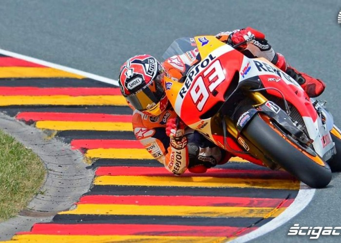 Grand Prix Niemiec Honda