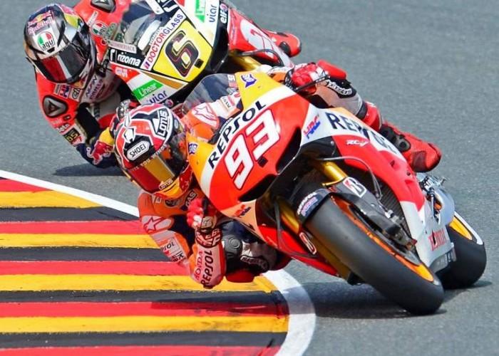 Grand Prix Niemiec Marquez Bradl