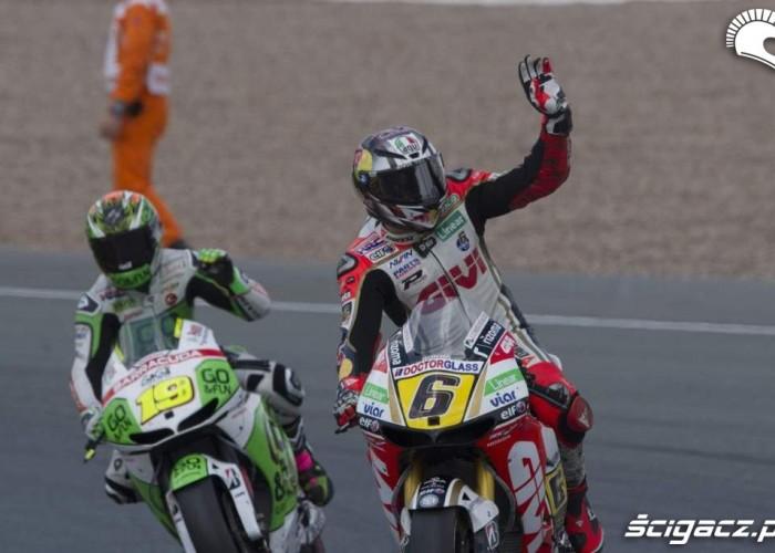 Koniec wyscigu Grand Prix Niemiec 2013