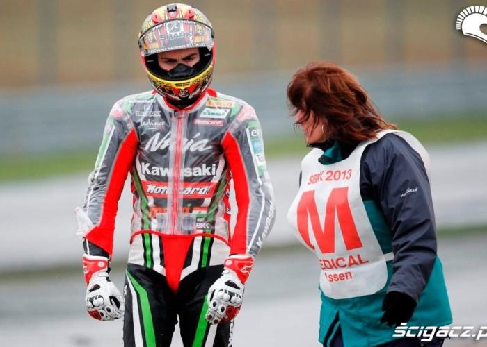 Baz po glebie Kwalifikacje Superbike Assen 2013