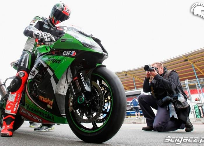 Box Kawasaki Kwalifikacje Superbike Assen 2013