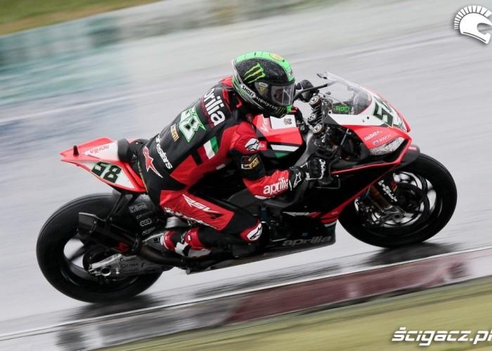 Laverty Aprilia Kwalifikacje Superbike Assen 2013