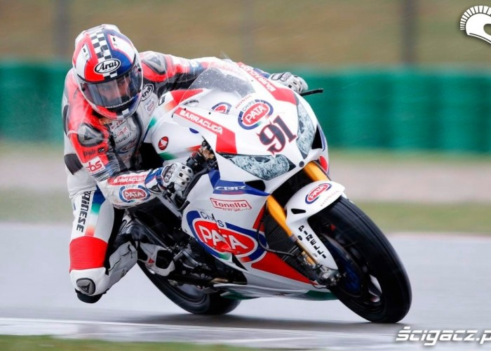 Leon Haslam Kwalifikacje Superbike Assen 2013
