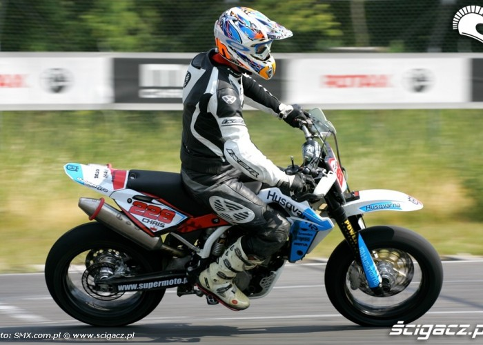 Chris III runda Supermoto