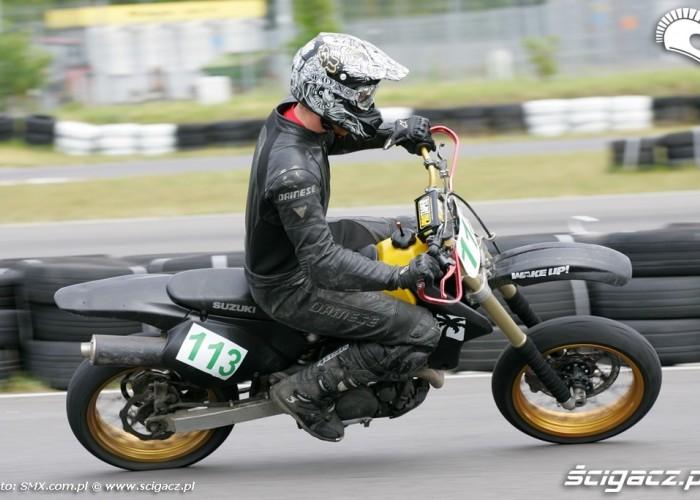 DRZ400 III runda Supermoto Torun