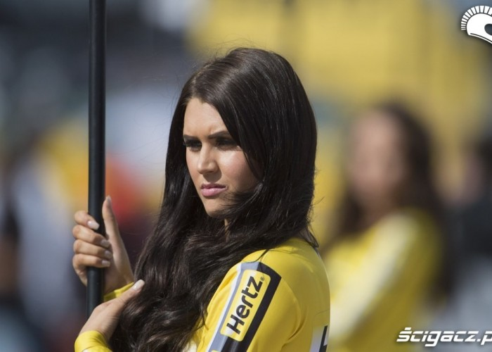 Grid Girl Grand Prix Silverstone 2013