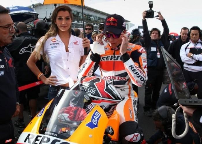 Hostesa Marqueza Grand Prix Silverstone 2013