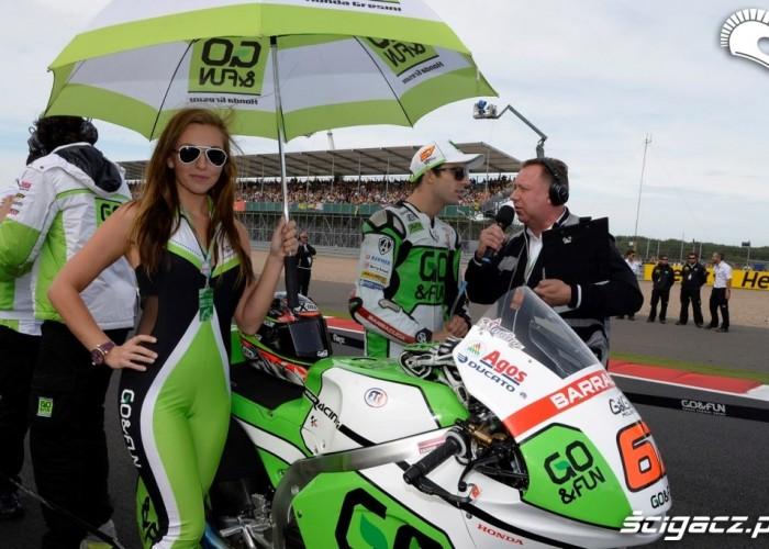 Hostessa Gresini Grand Prix Silverstone 2013
