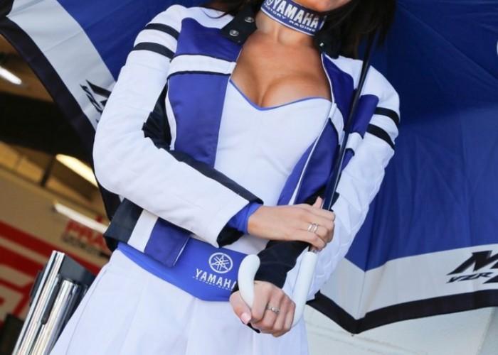 Hostessa Yamahy Grand Prix Silverstone 2013