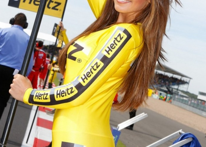 Modelki Grand Prix Silverstone 2013
