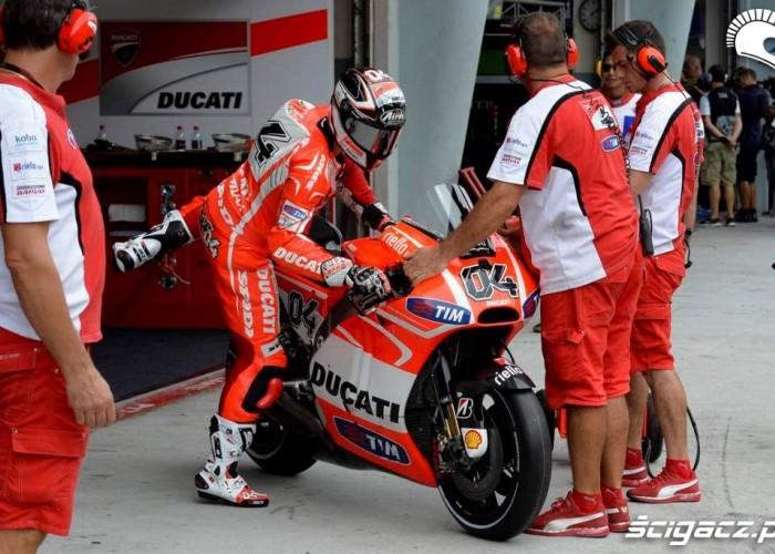 Box Ducati Grand Prix Malezji Ducati