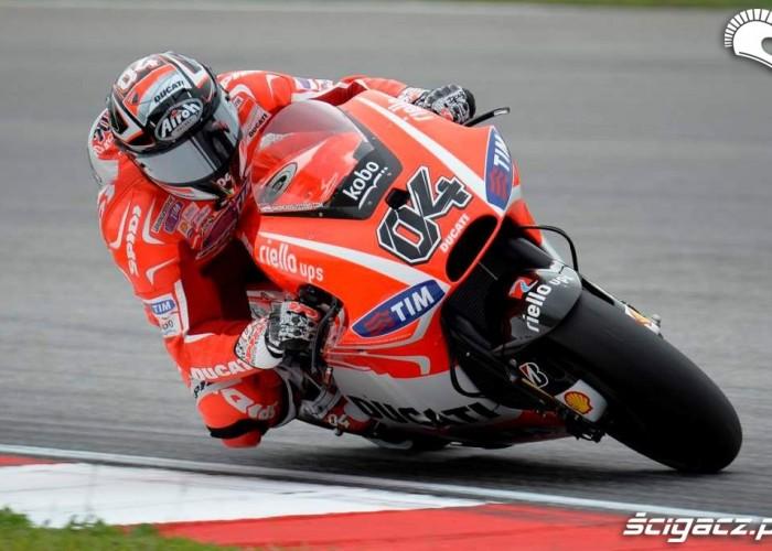 Dovizioso Grand Prix Malezji Ducati