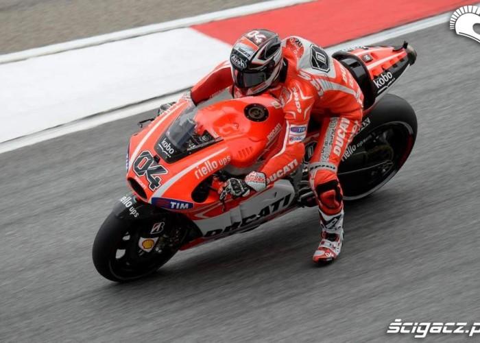 Hamowanie Grand Prix Malezji Ducati