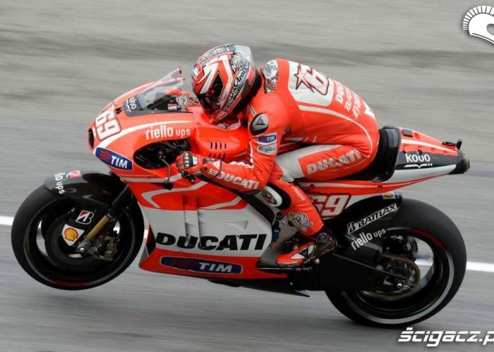 Hayden Grand Prix Malezji Ducati