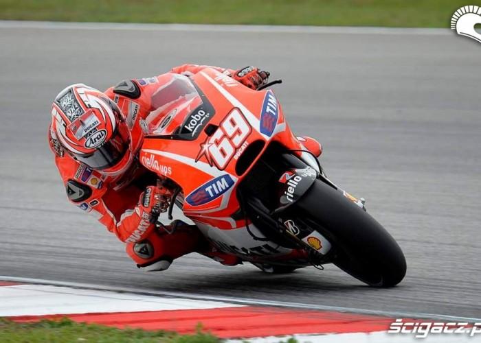Hayden Grand Prix Malezji Ducati II