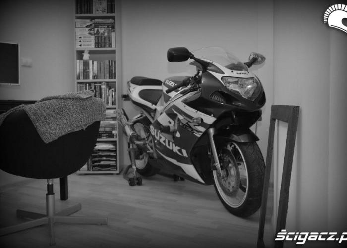 GSXR w domu