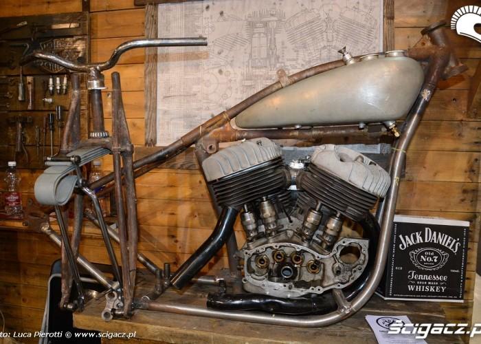 szkielet motocykla Eicma 2013