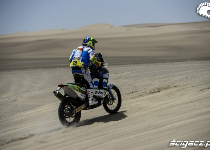 Chilijska pustynia Dakar Rally 2013