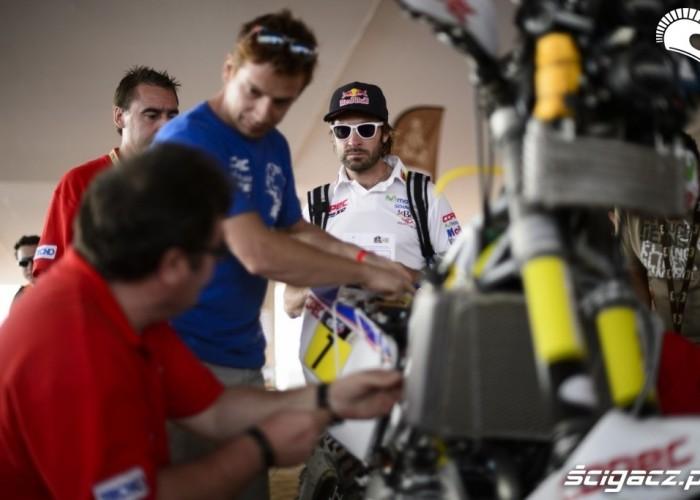 Inspekcja techniczna Dakar Rally 2013