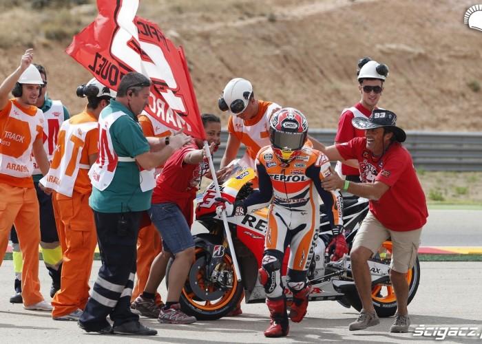 Marquez zwycieza