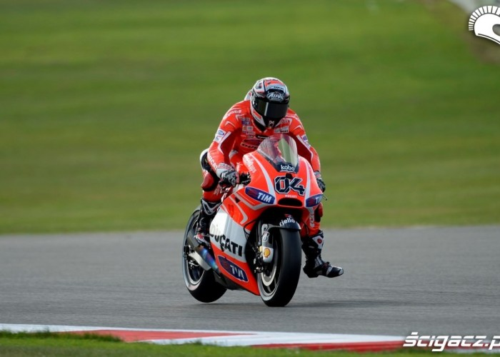 Dovizioso MotoGP Silvestone 2013