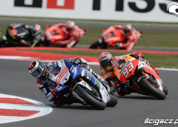 Lorenzo Marquez Grand Prix Silvestone 2013