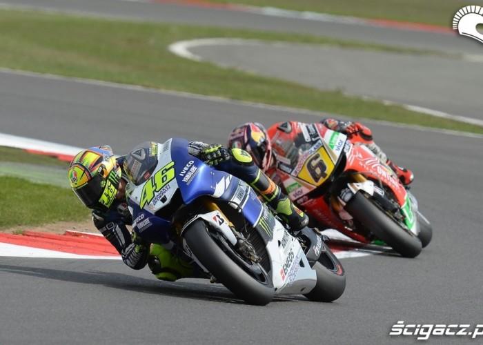 Rossi Bradl Grand Prix Silvestone 2013