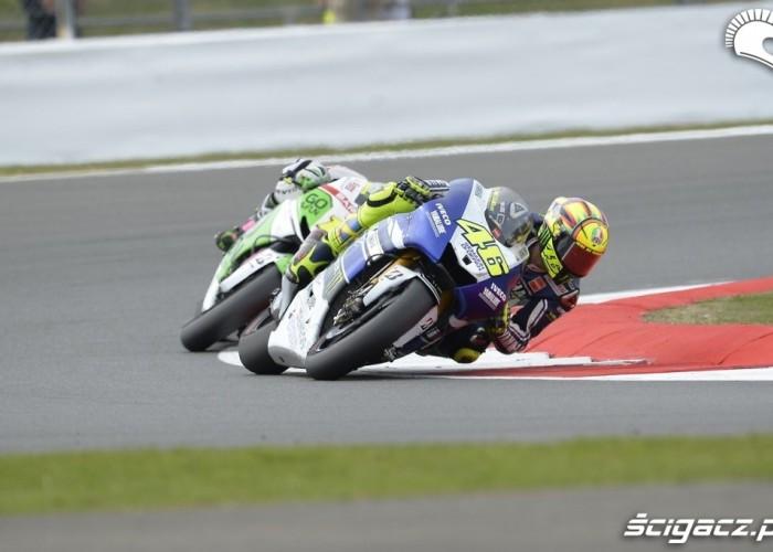 Rossi vs Bautista Grand Prix Silvestone 2013
