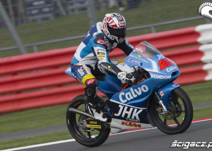 Vinales GP Silvestone 2013