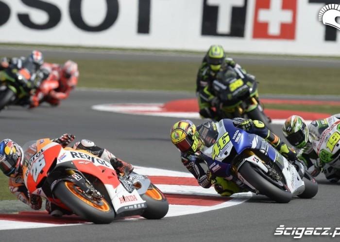Wyscig niedziela Grand Prix Silvestone 2013