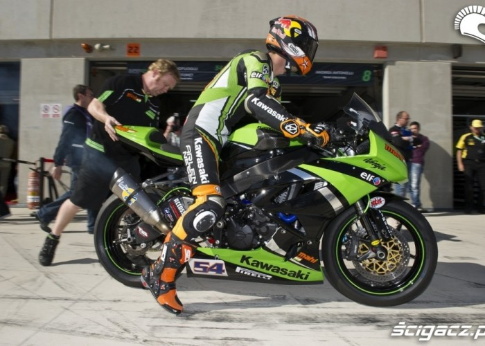 Box Kawasaki World Supersport Aragon